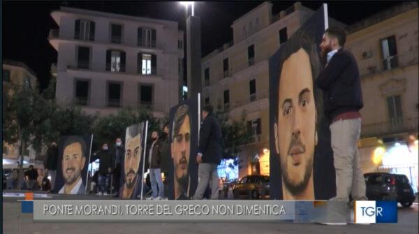 flash mob ponte morandi torre del greco