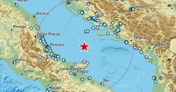 terremoto bari