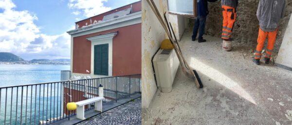 Federico II nuova sede Villa Ferretti