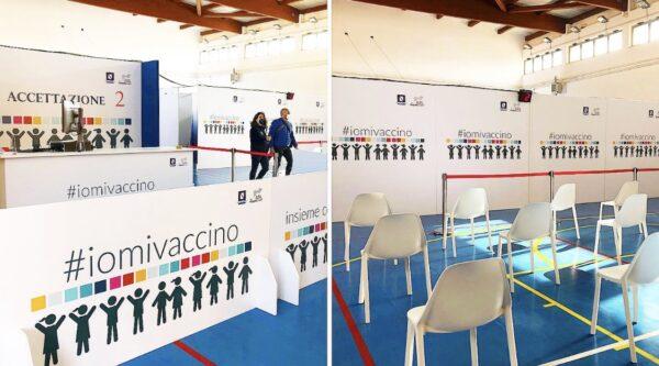 inaugurato nuovo centro vaccinale