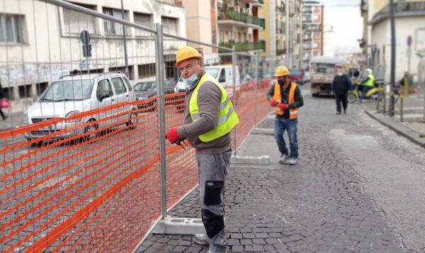 lavori via giacinto gigante