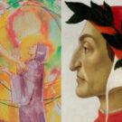 Dante Alighieri e copertina antologia