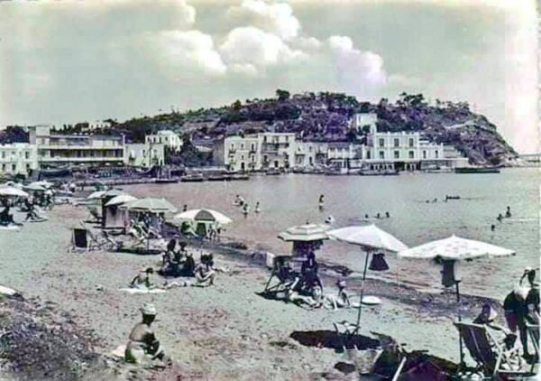Spiaggia del borgo di Casevecchie