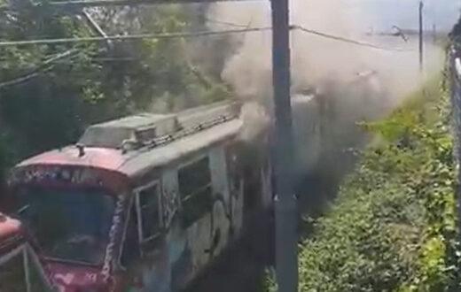 circumvesuviana incendio