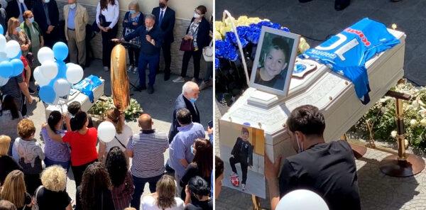 gabriel funerali