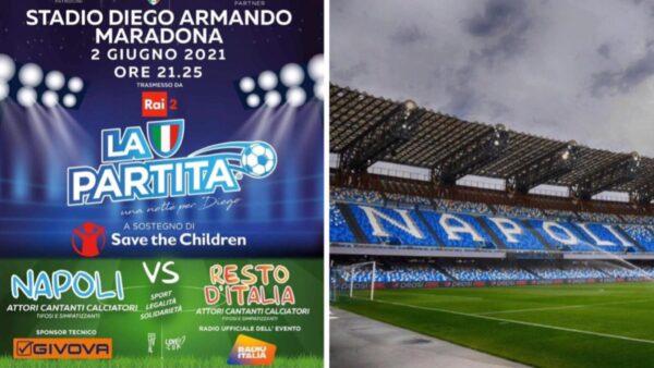 stadio Maradona solidarietà