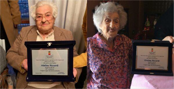sorelle centenarie