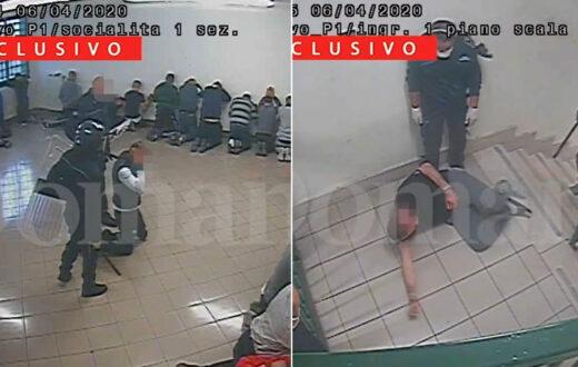 pestaggio detenuti carcere santa maria capua vetere