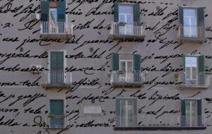 proiezione manoscritto Leopardi