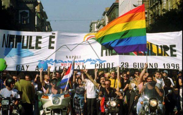 napoli gay pride 1996