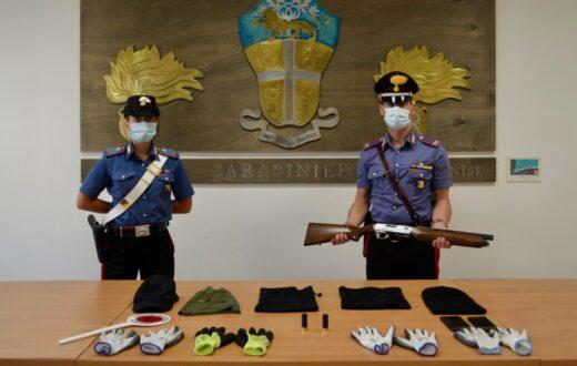 Rapina con passamontagna e fucili tra di loro un percettore RdC