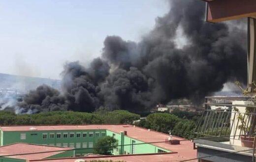 incendio evacuato asilo