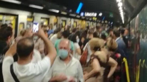 metro napoli manfredi