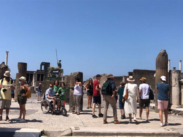 green pass scavi pompei