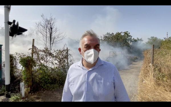 incendi somma vesuviana sindaco