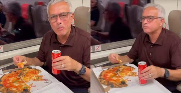mourinho pizza