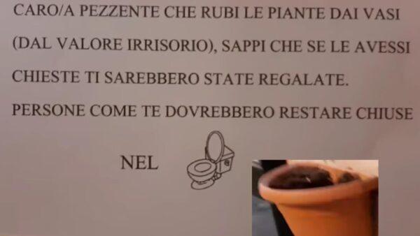 piante rubate via belvedere