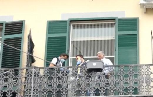 balcone bimbo morto samuele