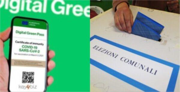 green pass elezioni