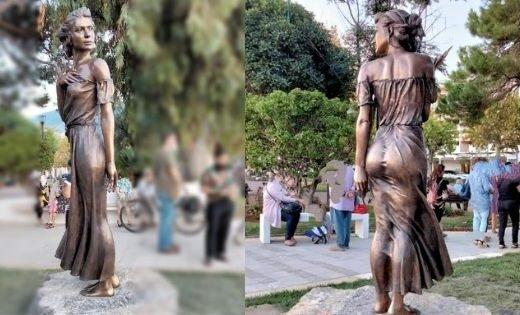 spigolatrice di sapri statua